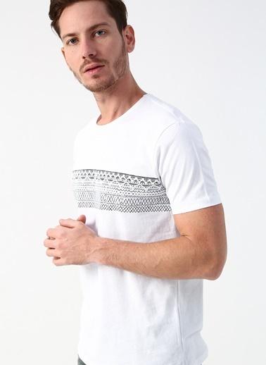Twister Tişört Beyaz